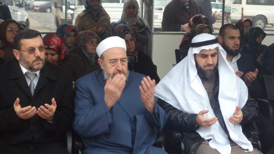 تكريم الفائزين بمسابقة القراّن الكريم في مخيم تل أبيض