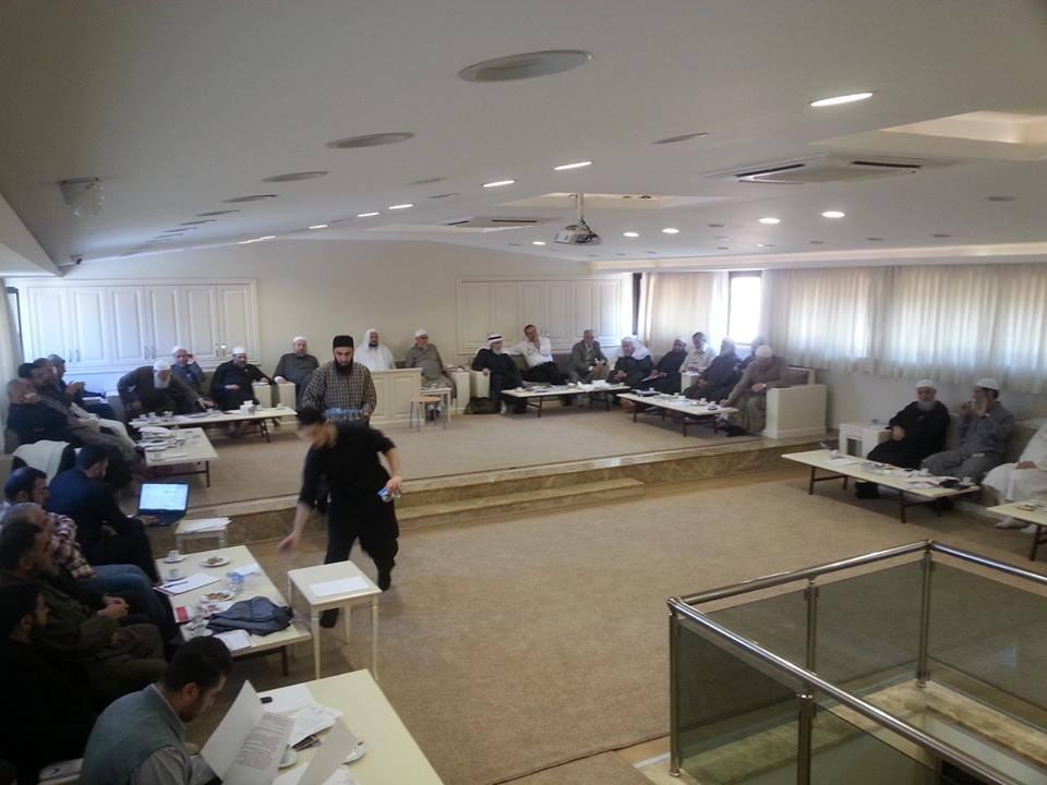 لقاء هيئة الشورى واللقاء الموسع لأعضاء رابطة العلماء السوريين