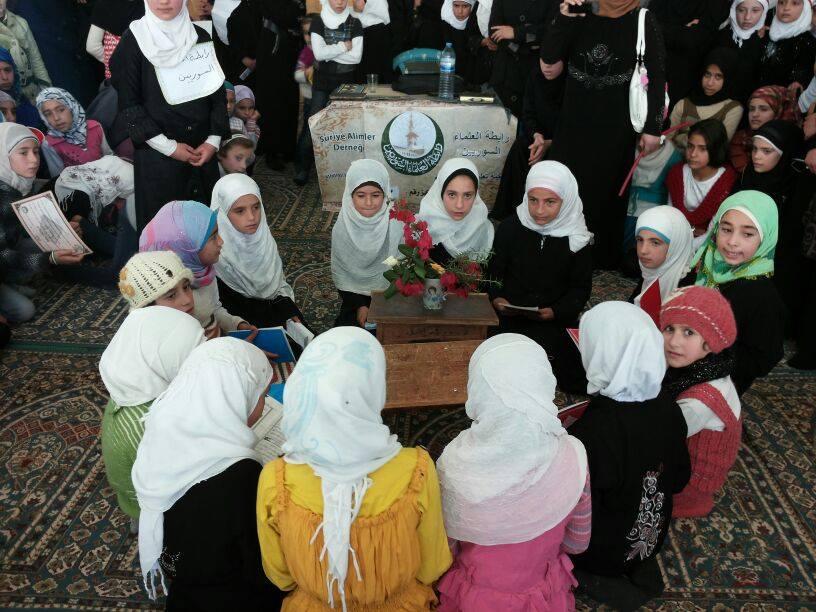 حفل تكريم في بلدة كللي بريف إدلب