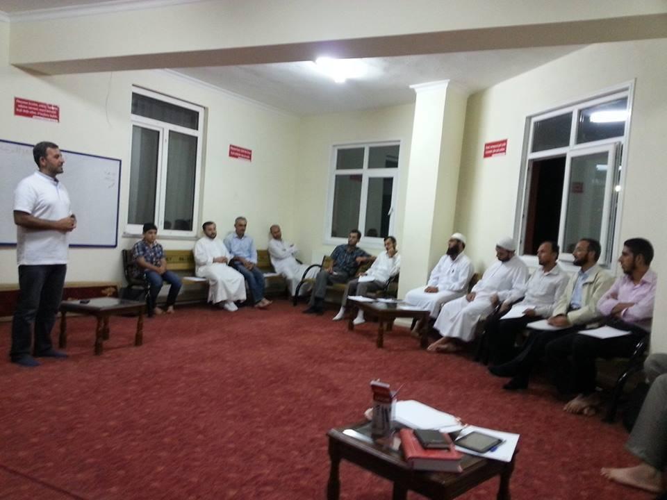 دورة عنتاب لمشرفي القرآن الكريم
