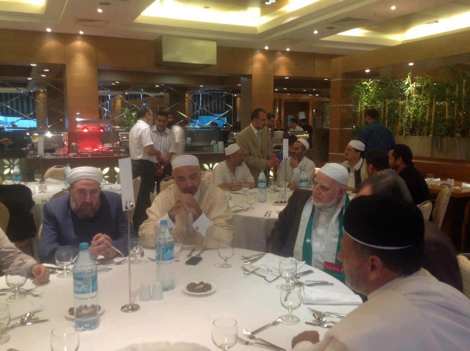 زيارة رابطة العلماء السوريين لليبيا 25-30 رمضان 1433