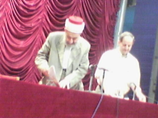 الدكتور نور الدين العتر يحاضر في مديرية الثقافة بحلب - محاضرة