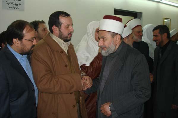 تأبين العلامة الدكتور مصطفى الخن - معهد الفتح يقيم حفلة تأبين الدكتور الخن