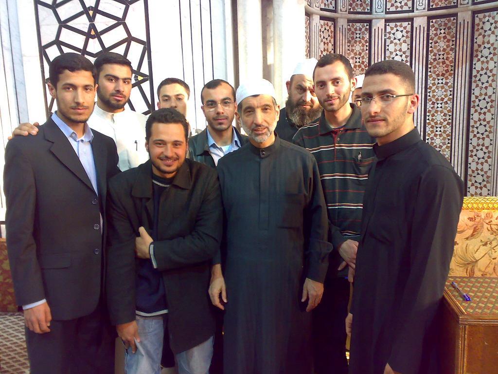 قراءة كتاب الشمائل المحمدية في جامع الإيمان - مجالس الحديث في دمشق الشام